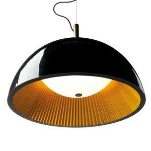 GROK Grok Umbrella závesná lampa, čierna, Ø 60cm