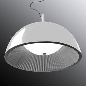 GROK Grok Umbrella závesná lampa, biela, Ø 100cm