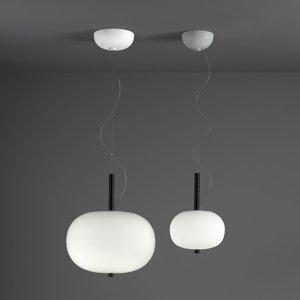 GROK Grok Ilargi závesné LED fáza tmavé Ø 39,5cm