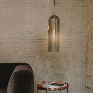 LEDS-C4 LEDS-C4 Glam závesná lampa dymové sklo, 38,5cm