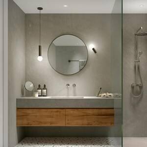 LEDS-C4 LEDS-C4 Mist kúpeľňové nástenné svetlo 1-pl. chróm