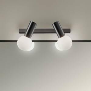 LEDS-C4 LEDS-C4 Mist nástenné svietidlo 2-pl., čierna