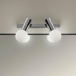 LEDS-C4 LEDS-C4 Mist nástenné svietidlo 2-pl., chróm