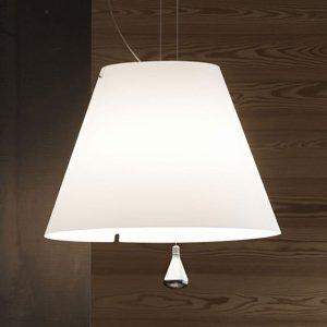 Luceplan Luceplan Costanza závesná lampa D13sas, biela