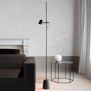 Luceplan Luceplan Counterbalance stojaca LED lampa, čierna