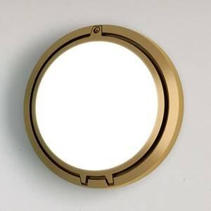 Luceplan Luceplan Metropoli nástenné svetlo bronz sklo 27cm