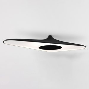 Luceplan Luceplan Soleil Noir stropné LED svietidlo, čierne