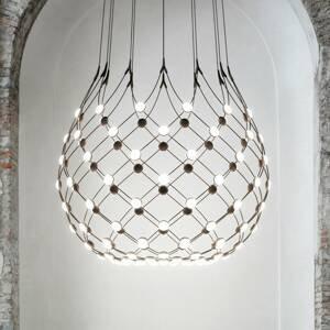 Luceplan Luceplan Mesh závesná lampa Ø 100cm 3m zavesenie