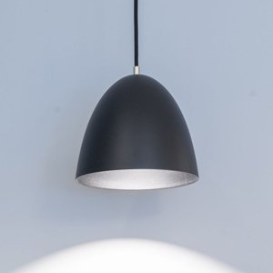 GLamOX Závesné LED svietidlo Eas Ø 24cm, 3000K, čierne