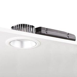 GLamOX LED downlight D70-RF155 HF 3000K biela/strieborná