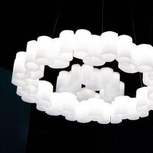 Linea Light Závesné LED Honey stmievateľné okrúhle 58cm