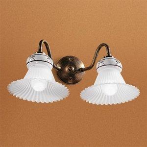 Linea Light Nástenné svietidlo Mami 2-plameňové