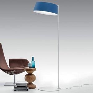 Linea Light Stojaca LED lampa Oxygen_FL2 azúrová farba