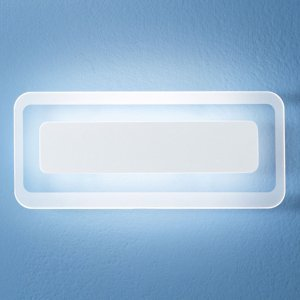 Linea Light Nástenné LED svietidlo Antille, biele 31,4cm