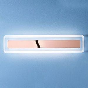 Linea Light Nástenné LED svietidlo Antille meď 61,4cm