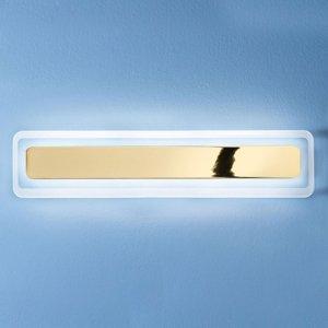 Linea Light Nástenné LED svietidlo Antille zlaté 61,4cm