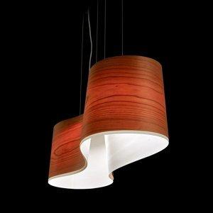LZF LamPS LZF New Wave závesná lampa, čerešňa/slonovina
