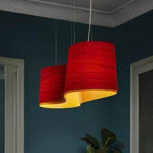 LZF LamPS LZF New Wave závesná lampa, červená/žltá