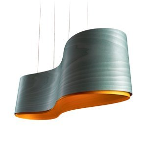 LZF LamPS LZF New Wave závesná lampa, tyrkysová/žltá
