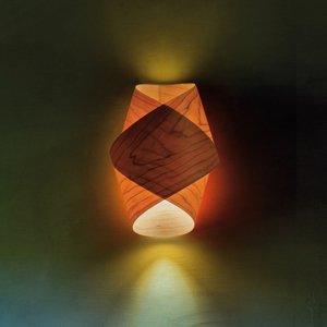 LZF LamPS LZF Orbit nástenné svietidlo čerešňa prírodná