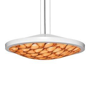 LZF LamPS LZF Cervantes závesná lampa 0-10V slonovina orech