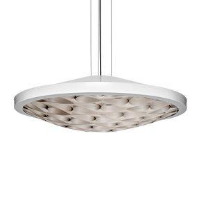 LZF LamPS LZF Cervantes závesná lampa 0-10V slonovina, sivá