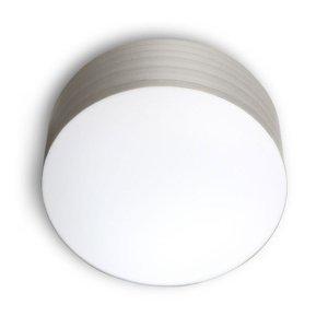 LZF LamPS LZF Gea stropné svietidlo 0-10V dim, Ø 20cm, sivé