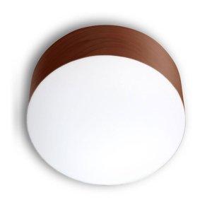 LZF LamPS LZF Gea stropné svietidlo 0-10V dim Ø20cm čokoláda