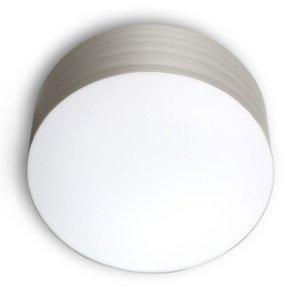 LZF LamPS LZF Gea stropné svietidlo 0-10V dim, Ø 30cm, sivé