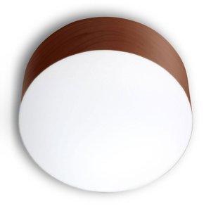 LZF LamPS LZF Gea stropné svietidlo 0-10V dim Ø30cm čokoláda