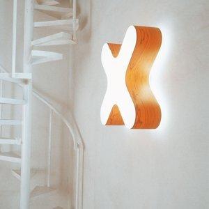 LZF LamPS LZF X-Club nástenné LED 0-10V dim čerešňa