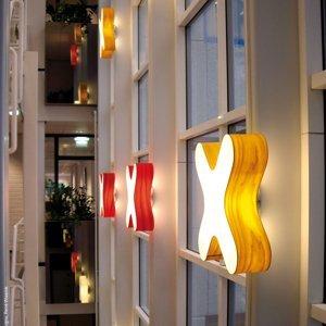 LZF LamPS LZF X-Club nástenné LED 0-10V dim červené