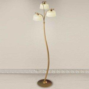 Lam Stojaca lampa Alessio s 3 tienidlami zo skla scavo
