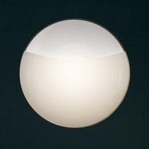 Lam Nástenné svetlo 1650/A15 matné biele sklenený kryt