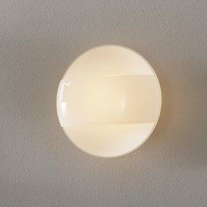 Lam Nástenné svetlo 1650/A20 matné biele sklenený kryt