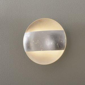 Lam Nástenné svetlo 1650/A20 kryt lístkové striebro