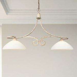 Lam Závesná lampa 1730/2B 2-plameňová slonovina