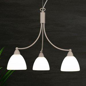 Lam Závesná lampa 1795/3 biela, havana béžová