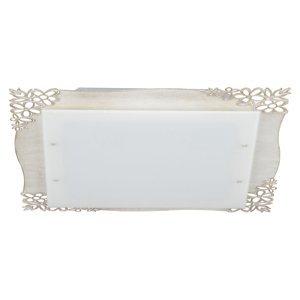 Lam Stropné 2065/PL41 štvorcové, savana white