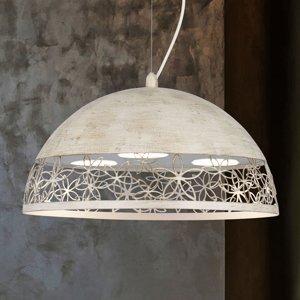 Lam Závesná lampa 4522/GX40 tundra biela Ø40cm