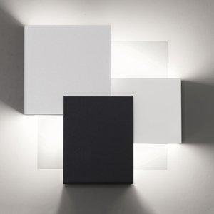 Lam Nástenné LED Gustav 8060/A02 čierne biele stmieva