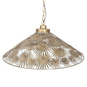 Clayre & Eef Závesná lampa 281 zaujímavé železné tienidlo
