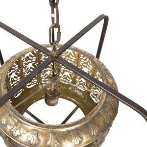 Clayre & Eef Závesná lampa 691 s orientálnym nádychom