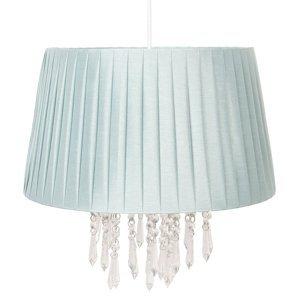 Clayre & Eef Závesná lampa 0463 so závesom svetlozelená