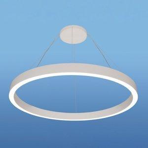 Lenneper Závesné LED IRIS08-ID, Ø 80cm, biele, 4000K