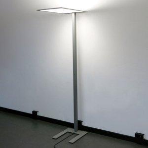 Lenneper Stojaca LED lampa LEAS, 203cm, titán, tlačidlo