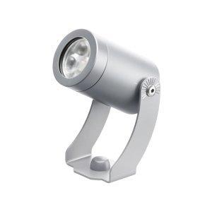 LCD Vonkajšie LED svetlo 1441LED, striebro, 30°