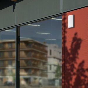 LCD Vonkajšie svietidlo 039 detektor pohybu grafit