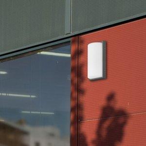 LCD Vonkajšie LED 039, detektor pohybu, grafit