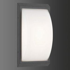 LCD Vonkajšie svietidlo 053 z ušľachtilej ocele grafit